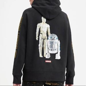 Hoodies Levi's star wars  New with tag
